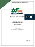 PRATICA 4 procesos de conformado el CNC