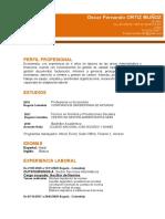 CV PROFESIONAL OSCAR FERNANDO 2020