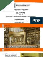 5. Planeamiento y consideraciones aplicadas en la investigación - Semana 5