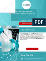 Global and China Water-Based Floor Coating Market Insights, Forecast to 2026