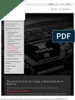 Características de carga y descarga de la batería - Yuasa.pdf