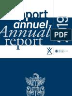annuel 2019 relatório anual da faculdade