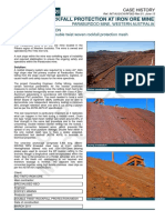 CH_RF_AU_Stabilisation of a Rock Slope at Paraburdoo Iron Ore Mine