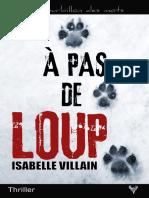 EXTRAIT du roman « À pas de loup » d'Isabelle Villain
