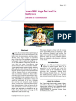 The Lesser Known Nath Yoga Sect and Its Insightful Metaphysics-Vijay Srinath Kanchi