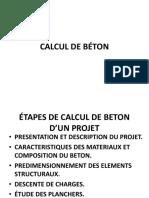 CalculBéton
