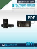 PRO2 Catalogue 2011
