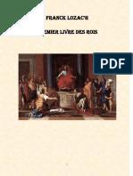 La Bible III Rois I Et II Chroniques I Et II 747 Pages