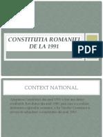 Constitutia Din 1991 Elev