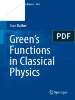 (Lecture Notes in Physics 938) Tom Rother (auth.) - Green's Functions in Classical Physics-Springer International Publishing (2017)