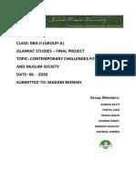 islamic studies final project