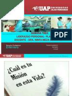 LIDERAZGO PERSONAL Y PLAN DE VIDA
