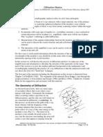 Diffraction basics