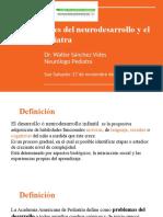 Alteraciones del neurodesarrollo