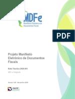 MDFe_NT2020_001 v1.00 MDFe Integrado