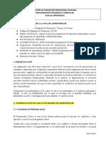 Guía N° 7. ASUMIR ACTITUDES CRITICAS, ARGUMENTATIVAS Y PROPOSITIVAS EN FUNCIÓN DE LA RESOLUCIÓN DE PROBLEMAS