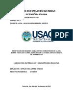 link informe final de Elaboración de proyectos