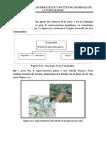 CONCEPTIONS GENERALES DE LA TOPOGRAPHIE