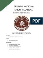 ENSAYO TRIAXIAL  - MECÁNICA DE SUELOS II - sec B