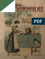 100 formulas de salsas
