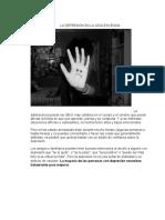 LA DEPRESIÓN EN LA ADOLESCENSIA (Reseña)