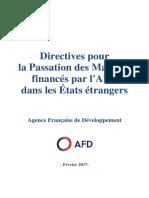 Directives-Passation-Marches-Etats-Etrangers 2017