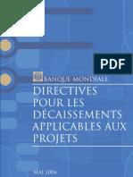 Directives Decaissements BM 2006