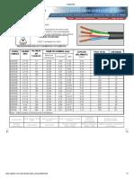 Catalogo de cables electricos CABLETEC Bogota