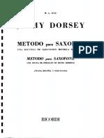 Jimmy Dorsey Metodo Saxo Alto-1
