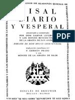 Misal Diario y Vesperal 1962 Gaspar Lefebvre.pdf