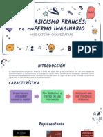 NEOCLASICISMO FRANCÉS EL ENFERMO IMAGINARIO