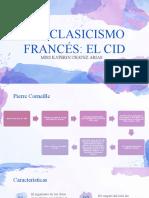 NEOCLASICISMO FRANCÉS EL CID