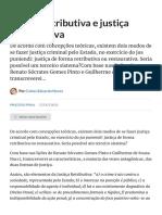Justiça retributiva e justiça restaurativa (Processo Penal) - Artigo jurídico - DireitoNet.pdf