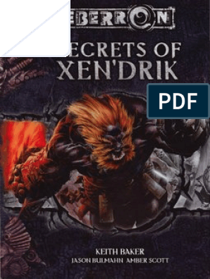 Eberron 3 5 - Secrets of Xen'drik