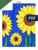 Draw-a-Sunflower