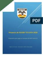 Propuesta para jugar rugby en tiempos de DSP Covid 19