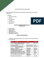 Acta FDF Fidelización 16 de Octubre  de 2020