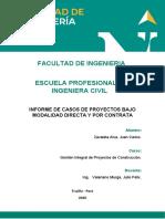TIPOS DE CONTRATAS ING. CIVIL 1