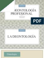 Presentación-La deontología