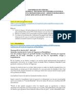 TALLER ESTUDIOS DE CASO SEGUNDO SEMESTRE DE 2020