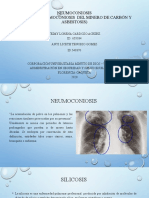 FERIA  DE ENFERMEDADES ASBESTOSIS, NEUMOCONIOSIS Y SILICOSIS.pptx