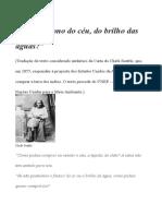 CARTA DO CHEFE SEATTLE