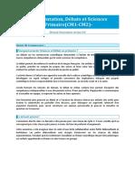CorteX Description Sequence Argumentation CM2 Ridoux Petits Debrouillards