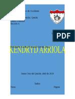 KENDRYD ARRIOLA. INTERNET EJERCICIO 1