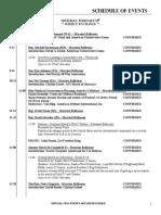 CPAC 2011 Schedule