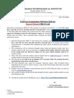 ESE NOV 2020 Re- Repeat Exam forms Notice