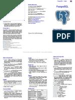 PostgreSQL Promo Flyer