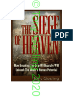 Siege of Heaven  by Tony Gosling Nov20