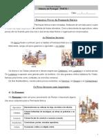 História de Portugal 4º ano-primeiros povos