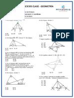 Teorema Con Lineas Notables - Ejercicios. Academia Pitagoras
